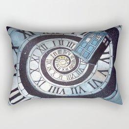 Through time and space... Rectangular Pillow