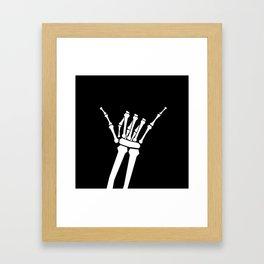Shaka Framed Art Print