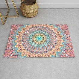 Jewel Mandala Faded - Mandala Design Rug