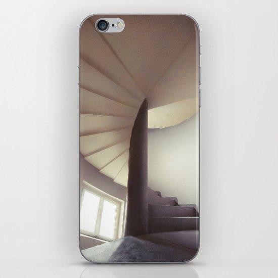 Spiral frontal iPhone & iPod Skin