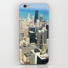 Chicago Buildings Color Photo iPhone & iPod Skin