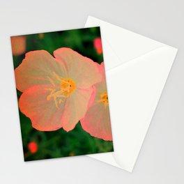 Tangerine Flowers   Nadia Bonello  Stationery Cards
