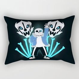 Sans the Skeleton Rectangular Pillow