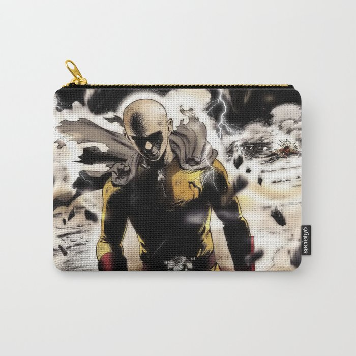 One Punch-Man Saitama 3 Carry-All Pouch