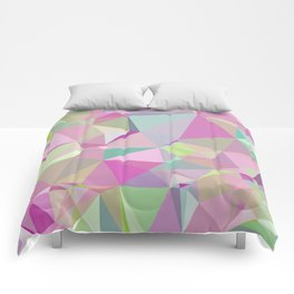 Colorful Triangles 3 Comforters