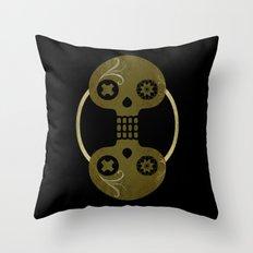 Dia De Los Muertos Dos Throw Pillow