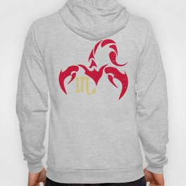 Scorpio, the eighth astrological sign in the Zodiac | Red Scorpion Hoody