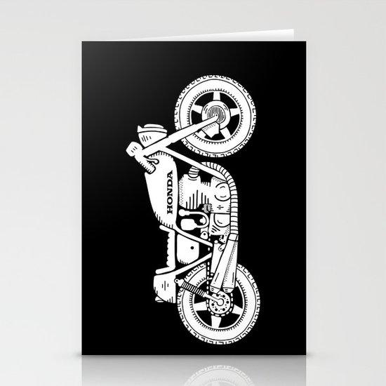 Honda CB750 - Café racer series #1 Stationery Cards