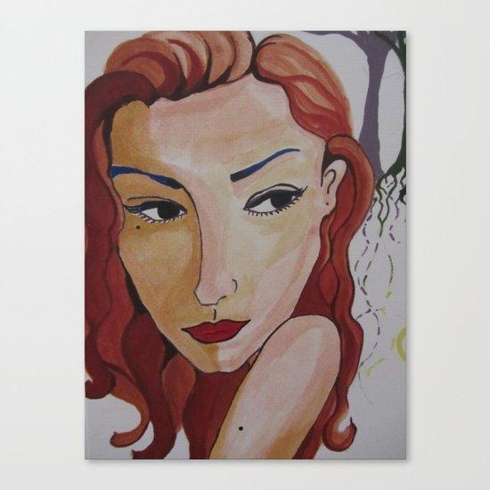 Jeanne Canvas Print