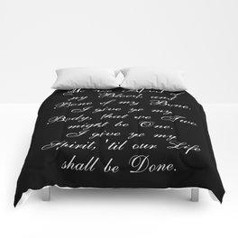 Outlander Wedding Vows Comforters