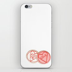 Pretty iced biscuits. iPhone & iPod Skin