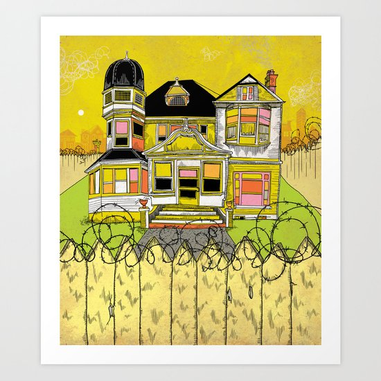 Your Home is Your Castle Art Print