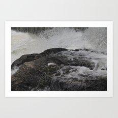Jones River Falls Art Print