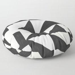 Black Sagacity Floor Pillow