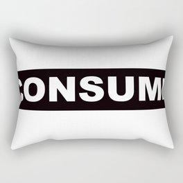 Consume Rectangular Pillow