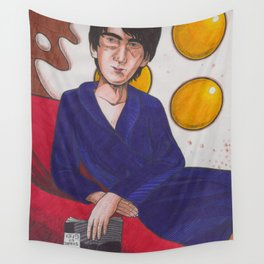 Fifty Shades Of Fried Eggs Wall Tapestry