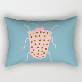 Arthropod blue Rectangular Pillow