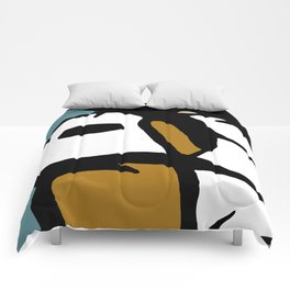 Abstract Painting Design - 3 Comforters
