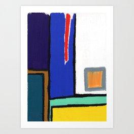 (A)Part Art Print