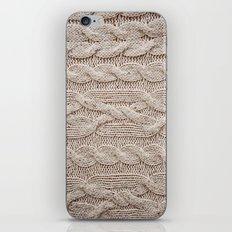 sweater iPhone & iPod Skin