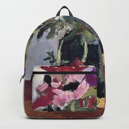 George Hendrik Breitner - Gemberpot Met Anemonen - Digital Remastered Edition Backpack
