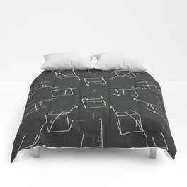 over lined Comforters