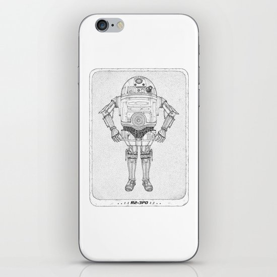 R2 3PO iPhone & iPod Skin