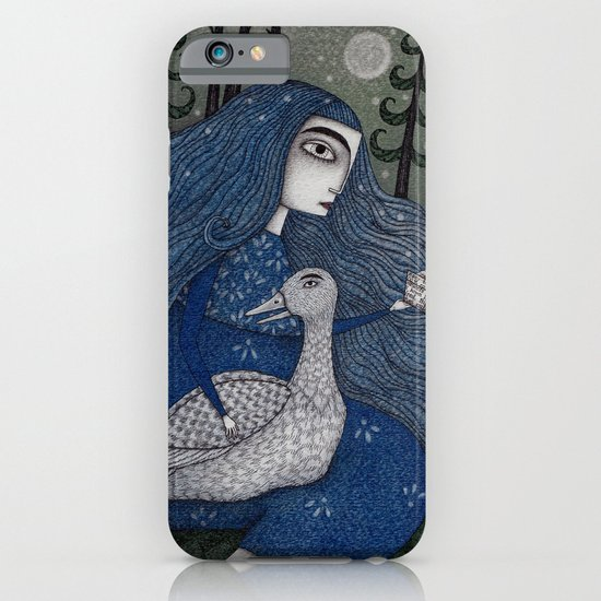 The White Duck iPhone & iPod Case