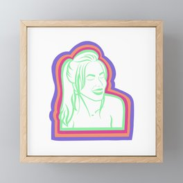 Joie 20 Framed Mini Art Print