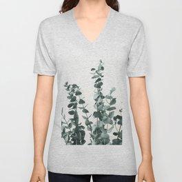 Eucalyptus Leaves Unisex V-Neck