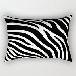 Zebra pattern Rectangular Pillow