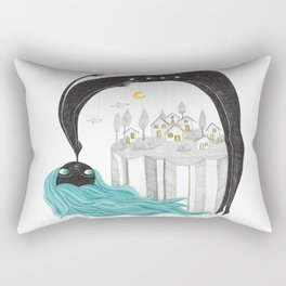 Balada nocturna- Noche Rectangular Pillow