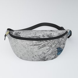 BUTTERFLIES AND FLOWERS Fanny Pack