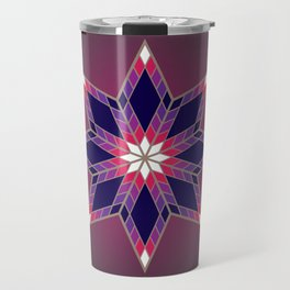 Morning Star Circle (Purple) Travel Mug