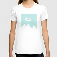 T-shirts featuring X-peaks by Gimetzco's Damaged Goods