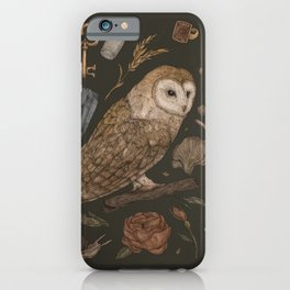 Harvest Owl iPhone Case