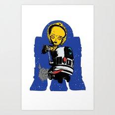 Lil' Blue Art Print