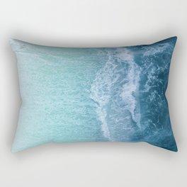 Turquoise Sea Rectangular Pillow