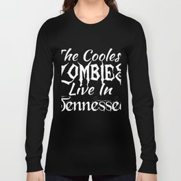 Tennessee The Coolest Zombies Long Sleeve T-shirt