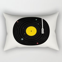 Music, Everywhere Rectangular Pillow