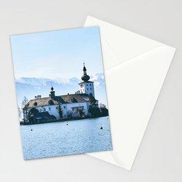 Elegantly Noble Fairytale Castle Schloss Ort Gmunden Austria Europe Ultra HD Stationery Cards