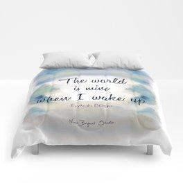 The World is Mine Comforters