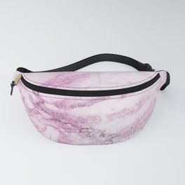 Watercolor pink marble Fanny Pack