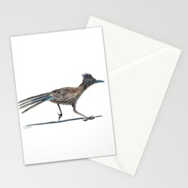 Watercolor Birds: Greater Roadrunner Stationery Cards
