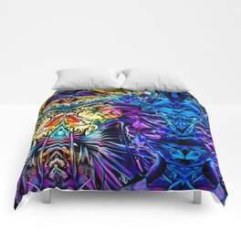 astral roadtrip Comforters