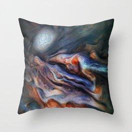 The Art of Nature - Jupiter Close Up Throw Pillow