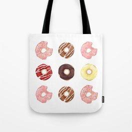 ALL DONUTS PRINT Tote Bag