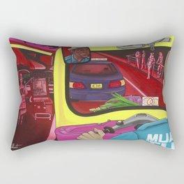 TUK TUK BANG COCK Rectangular Pillow
