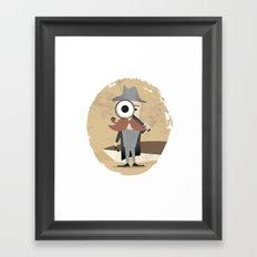Mr. Detective Framed Art Print