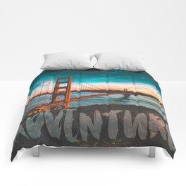ADVENTURE San Francisco Comforters